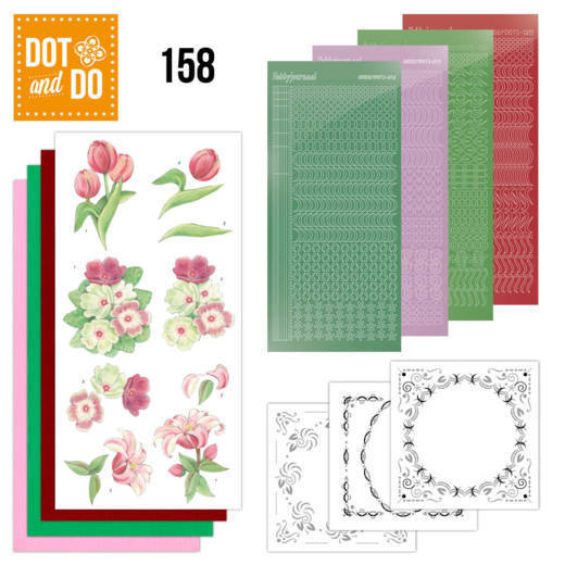Dot and Do 158 - Red Flowers