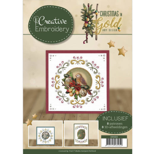Creative Embroidery 3 - Amy Design - Christmas in Gold