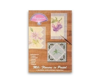 Pergamano Magazine M6 Flowers in Pastel