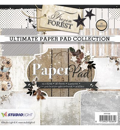 Studio Light paperpack Fozen Forest