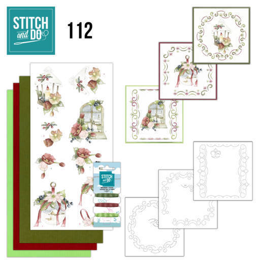 Borduurpakketje Stitch and Do 112 Warm Christmas Feelings