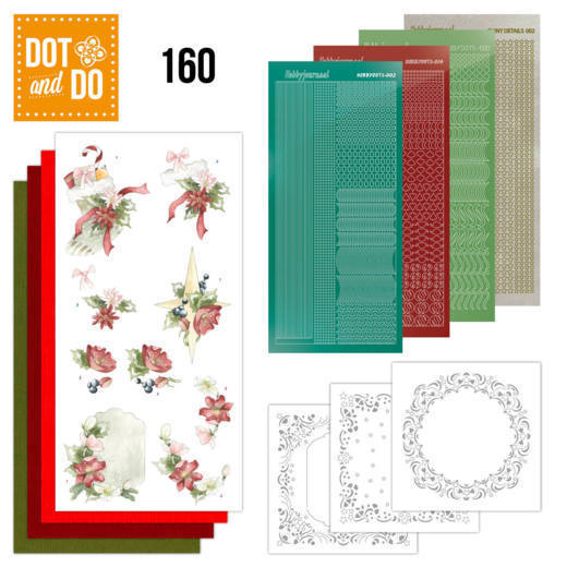 Dot and Do 160 - Red Christmas Ornaments