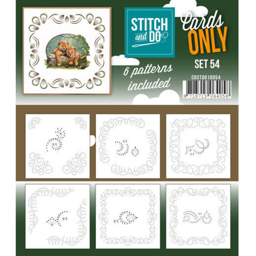 Stitch & Do - Cards only - set 54