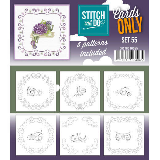 Stitch & Do - Cards only - set 55