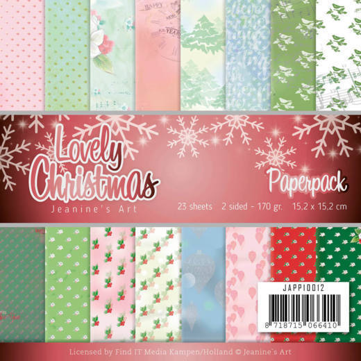 Paperpack - Jeanines Art - Lovely Christmas