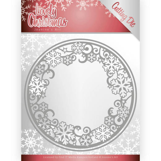 Dies - Jeanines Art - Lovely Christmas - Circle