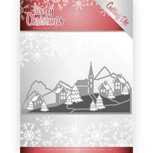 Dies - Jeanines Art - Lovely Christmas - Landscape