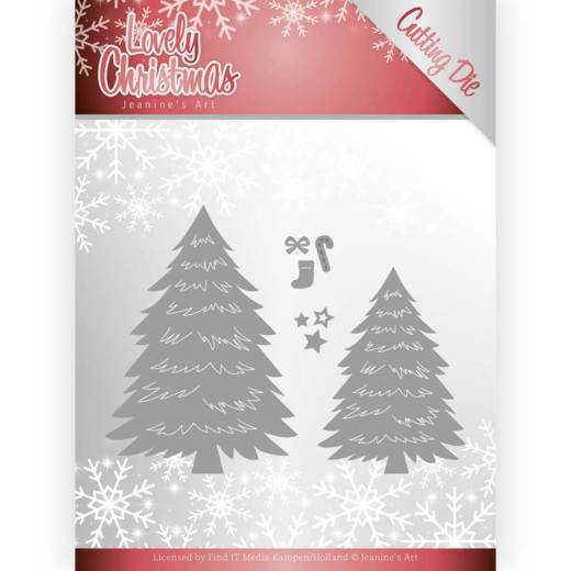 Dies - Jeanines Art - Lovely Christmas - Trees