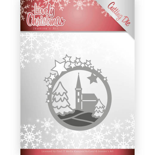 Dies - Jeanines Art - Lovely Christmas - Church