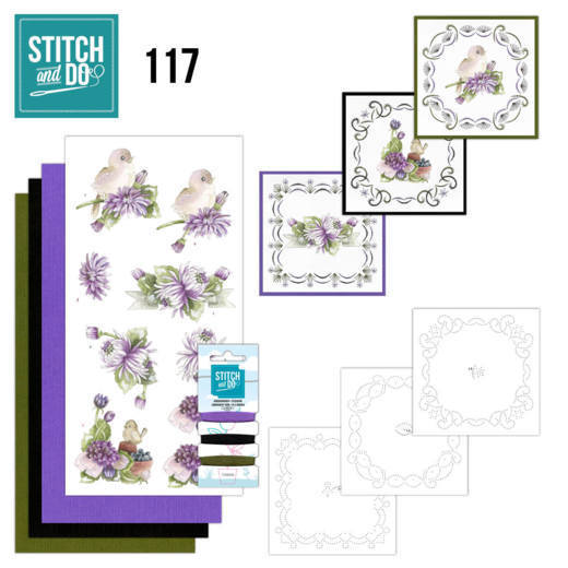 Borduurpakketje Stitch and Do 117 Chrysanthemum