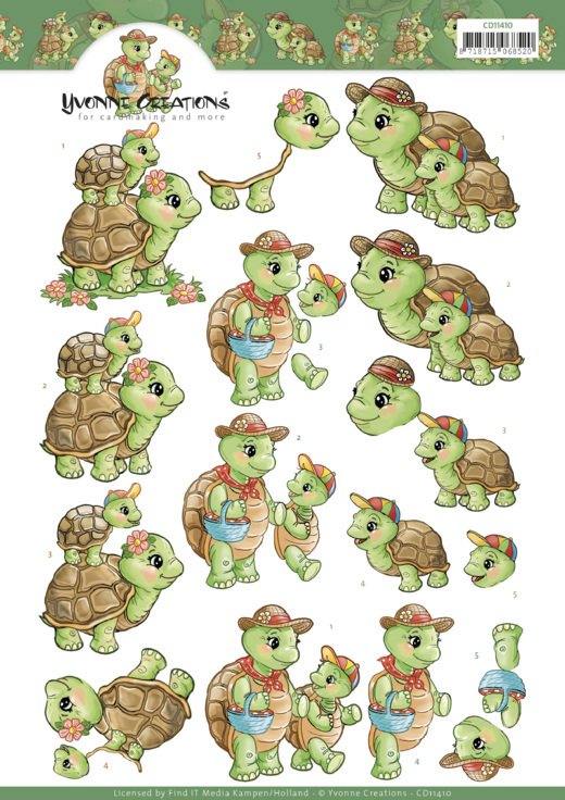 Yvonne knipvel A4 Turtle Mommy