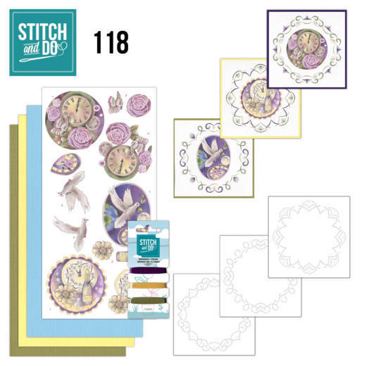 Borduurpakketje Stitch and Do 118 New Years Eve
