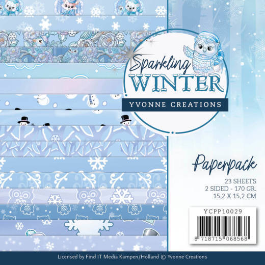 Paperpack - Yvonne Creations -Sparkling Winter