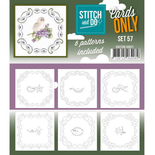 Stitch & Do - Cards only - set 57