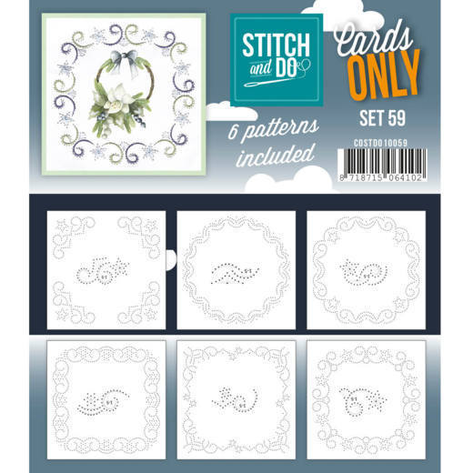 Stitch & Do - Cards only - set 59