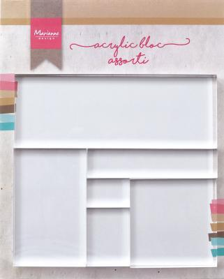 Marianne Design Clear Stamp Acryl Block Set