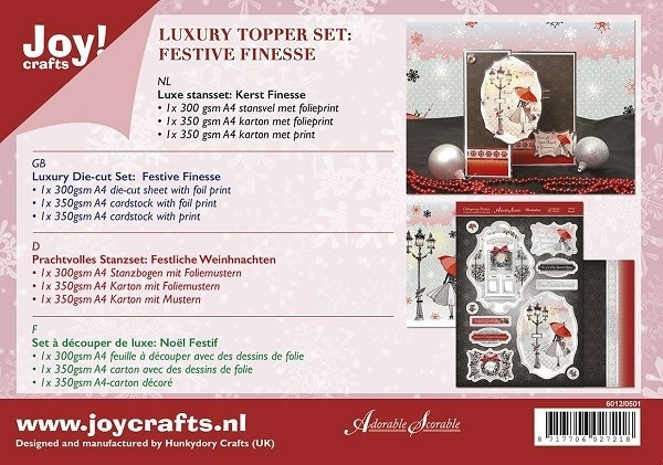 Joy! Crafts - Kaartenpakket - Festive Finesse