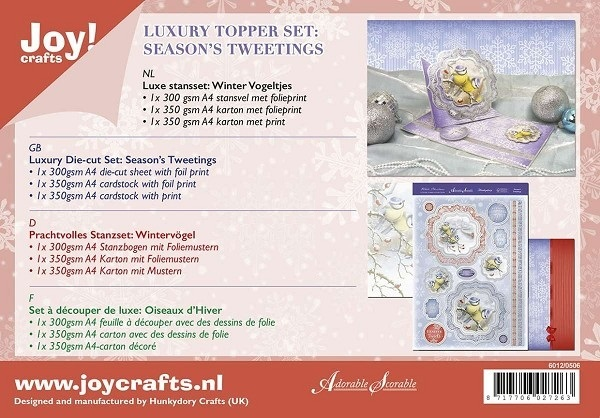 Joy! Crafts - Kaartenpakket - Season's Tweetings