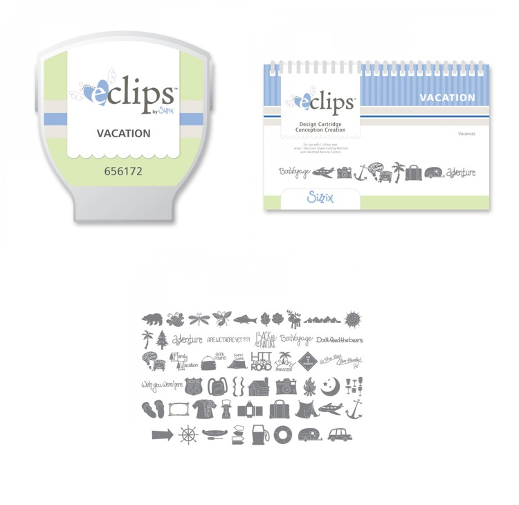 Sizzix eclips Cartridge Vacation