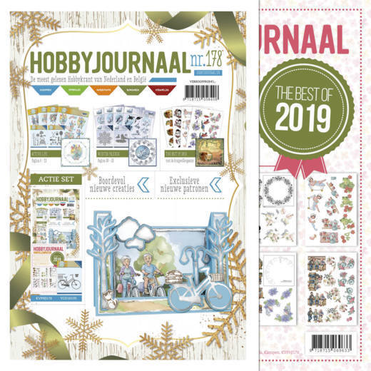 Hobbyjournaal 178 -  met knipvelposter The Best of 2019