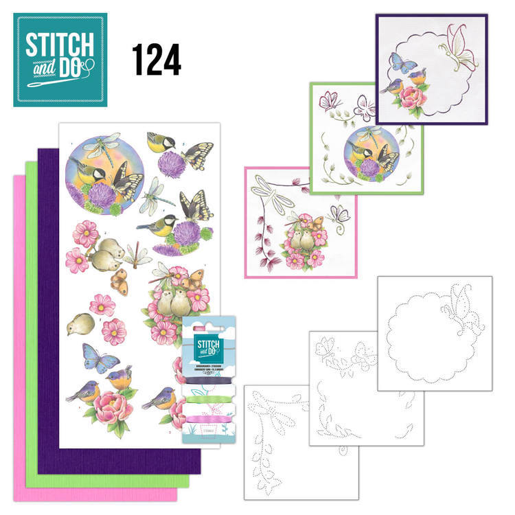 Stitch and Do 124 - Happy Birds