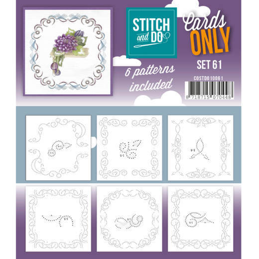 Stitch & Do - Cards only - set 61