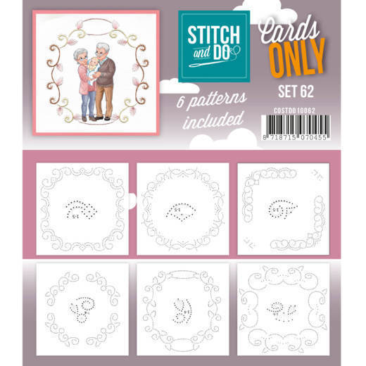 Stitch & Do - Cards only - set 62