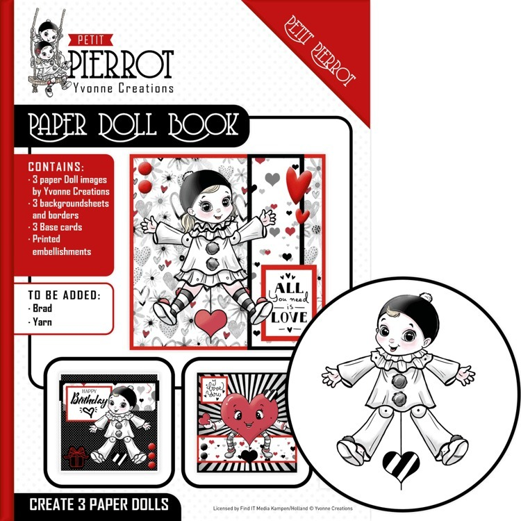 Paper Doll Book - Yvonne Creations - Petit Pierrot