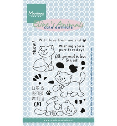 Marianne Design Clear stempel Cats