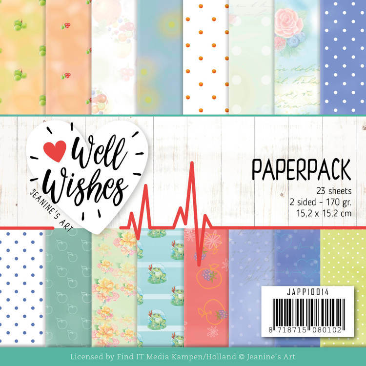 Paperpack - Jeanines Art - Well Wishes