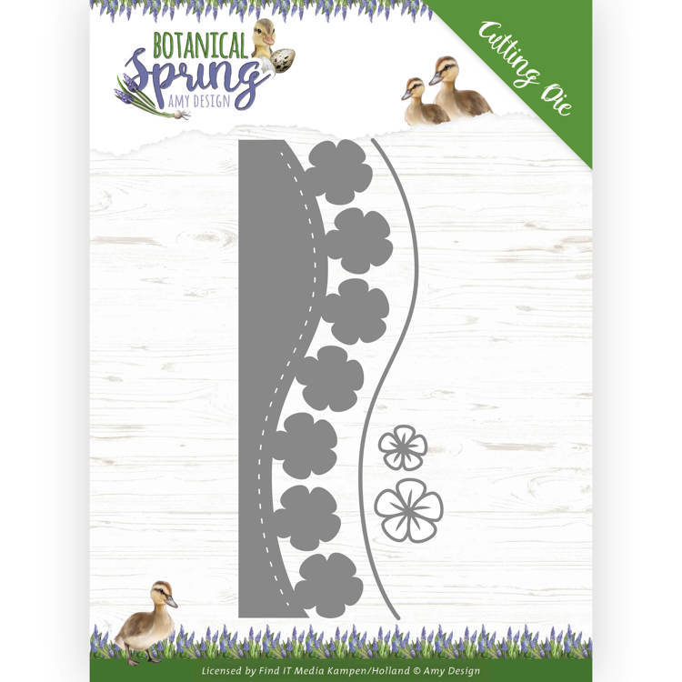 Dies - Amy Design - Botanical Spring - Blossom Border