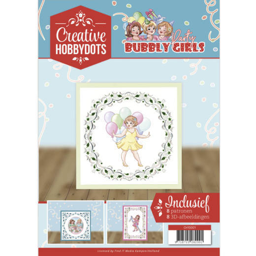 Creative Hobbydots 1 Bubbly Girls