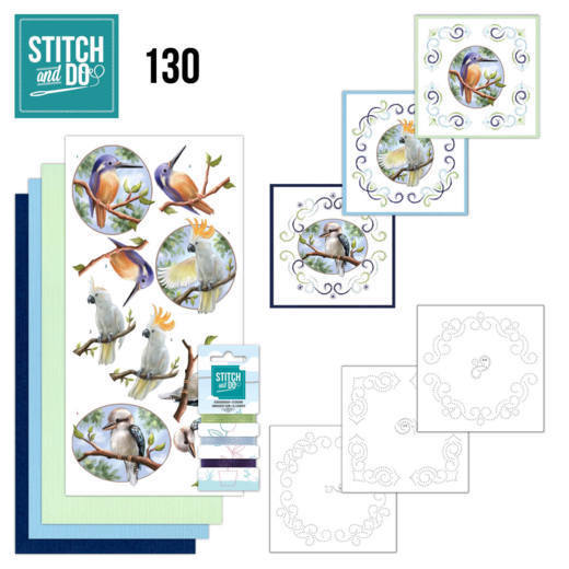 Stitch and Do 130 - Amy Design Wild Animals