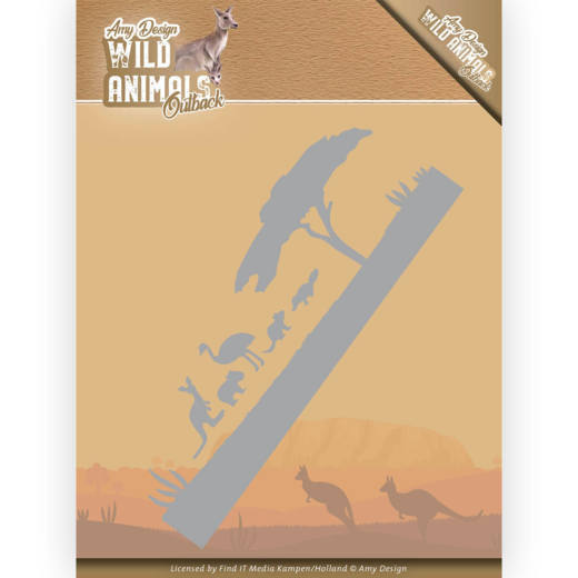 Dies - Amy Design - Wild Animals Outback - Landscape