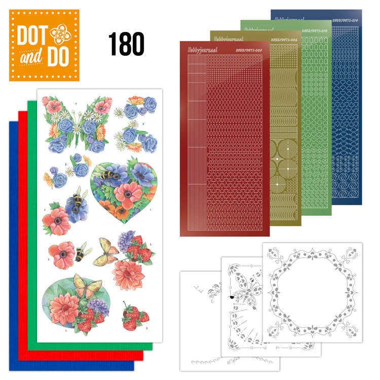Dot and Do 180 Summer Flowers