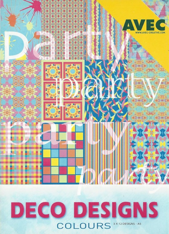 Deco Designs Paper Pack A5 Party