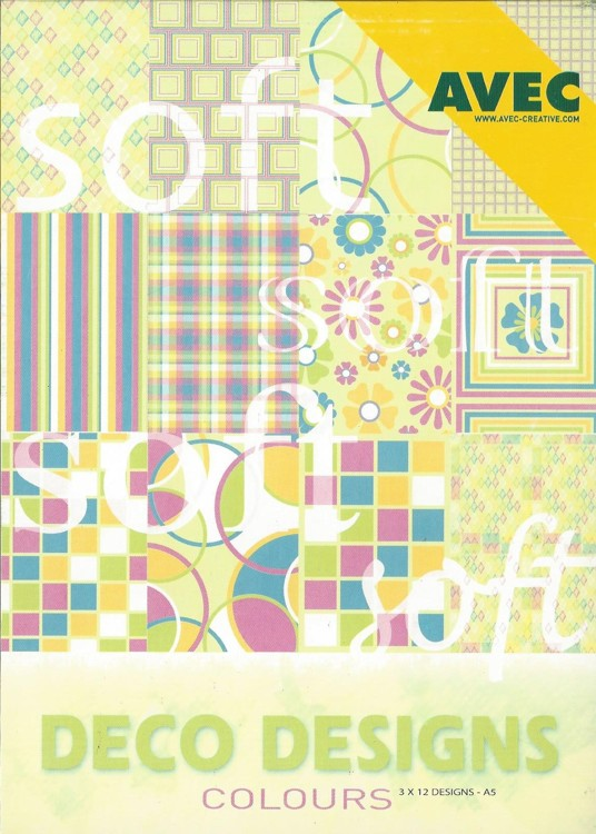 Deco Designs Paper Pack A5 Soft