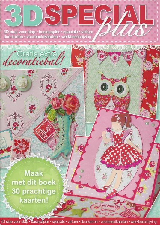 Boek 3D Special Plus 47 Flowers