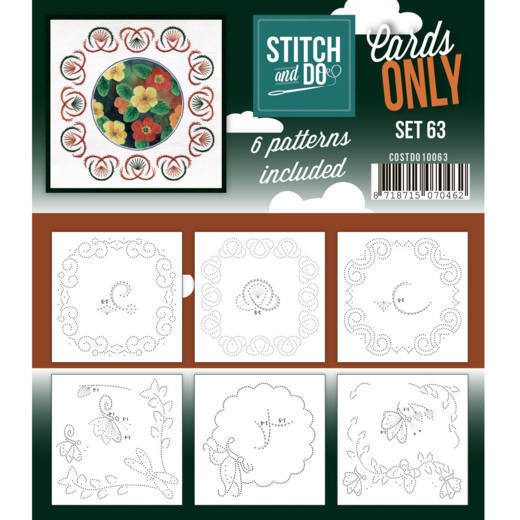 Stitch & Do - Cards only - set 63