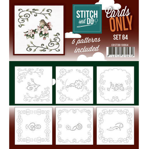 Stitch & Do - Cards only - set 64