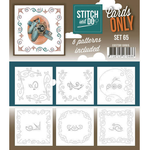 Stitch & Do - Cards only - set 65