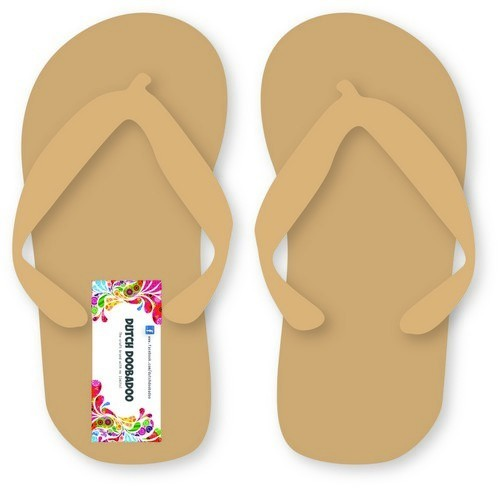 Dutch Doobadoo MDF Pair of Flip Flops