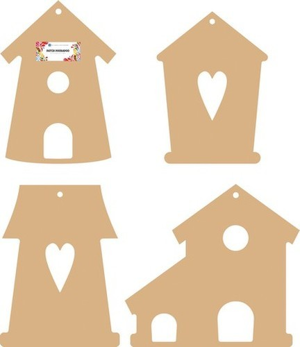 Dutch Doobadoo MDF Bird Houses