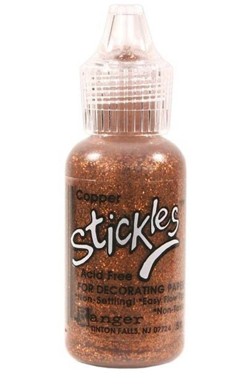 Stickles Glitterlijm 18ml Copper