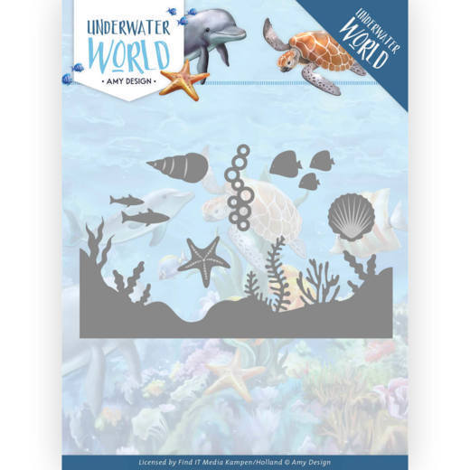 Dies - Amy Design - Underwater World - Sea Life
