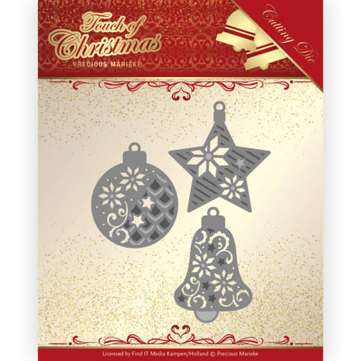 Dies - Precious Marieke - Touch of Christmas - Christmas Baubles