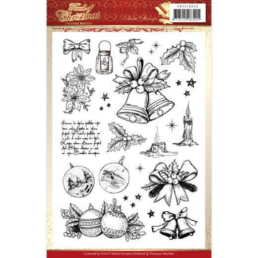 Clear Stamps - Precious Marieke - Touch of Christmas
