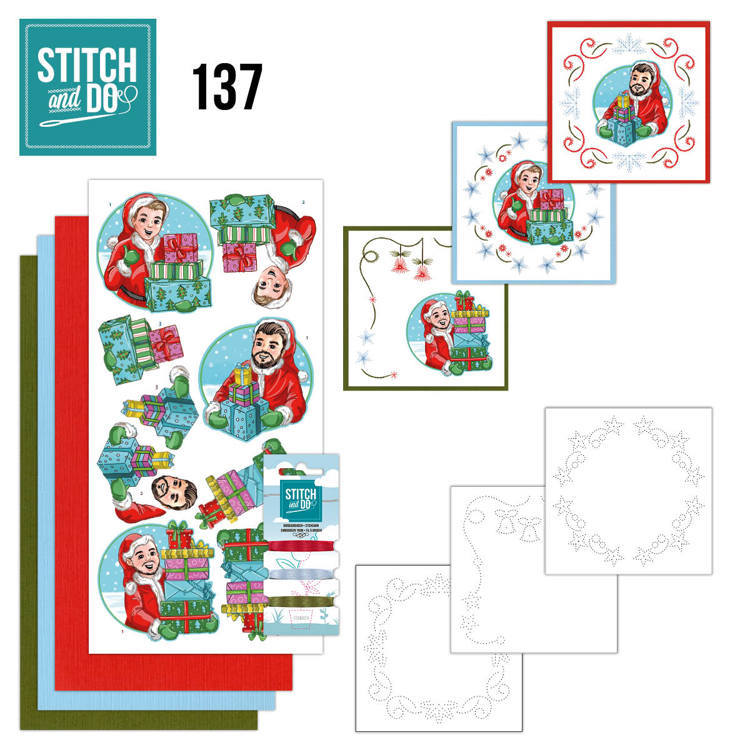 Stitch and Do 137 - Yvonne Creations - Big Guys Christmas