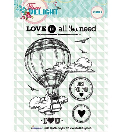 Studio Light - Clear stempel - Love is all you need