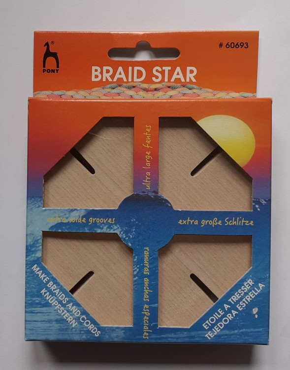 Pony Braid Star Tool